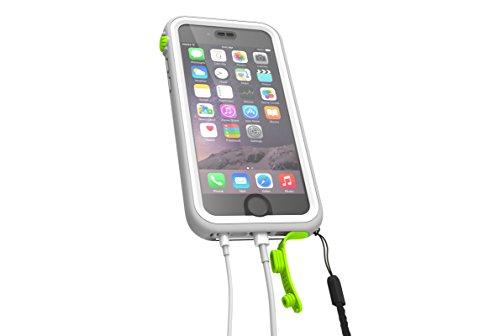 Catalyst Estuche impermeable para Apple Iphone 6 (espacio negro y gris) con Touch ID muy sensible Pop verde