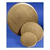 Boxit Gold Scalloped Cake Circle, 12 inch -- 100 per case.