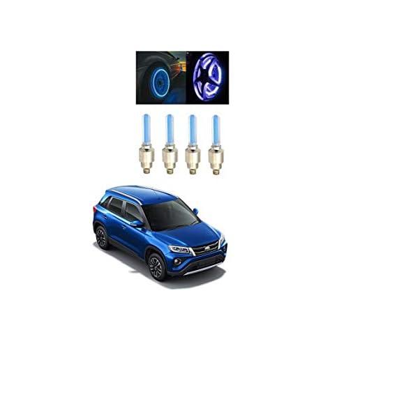Glito Blue Motion Sensor Tyre led Wheel Lighting Set of 4 Toyota Urban Cruiser