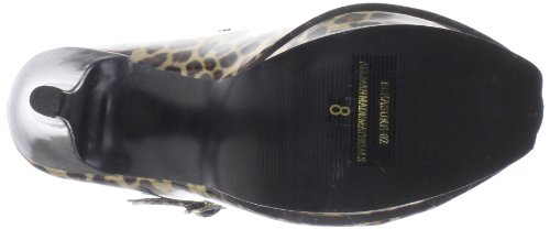 Pump Gold Cheetah Mary Pleasure 02 GPT Pleaser Patent Jane Print Women's xzwB0nAqY