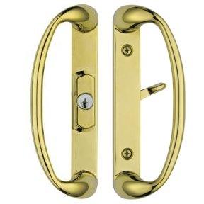 Amazon.com: Sonoma Sliding Glass Door Handle in Polished Brass ...
