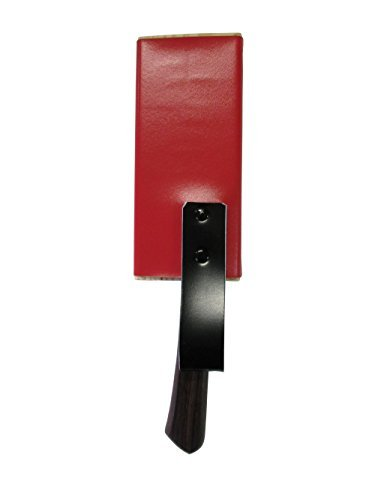 Stainless steel harvest knife knife with red sheath