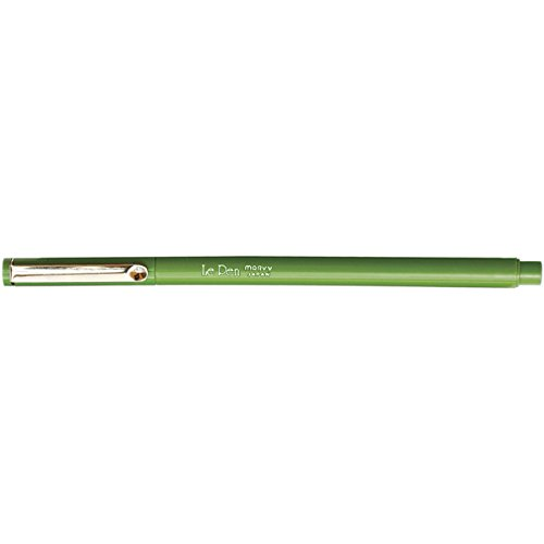 (Uchida LePen Marker, Micro Fine Point, Olive Green (UCH4300S15) )