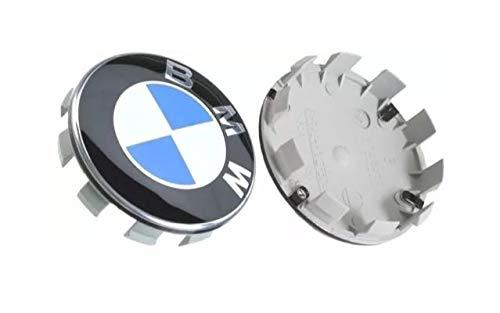 Boxcars BMW Aluminium Wheel Centre Cap Series 1 2 3 4 5 6 7 8 X1 X3 X4 X5 X6 Z3 Z4 68 mm Pack of 4.