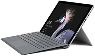 Surface Pro (fifth Gen) (Intel Core m3, 4GB, 128GB SSD) with Surface Signature Type Cover – Platinum