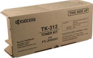Kyocera FS-2000D Toner Kit (12000 Yield) - Genuine Orginal OEM toner