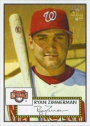2006 Topps '52 Baseball Rookie Card #270 Ryan Zimmerman (Ryan Baseball Zimmerman)