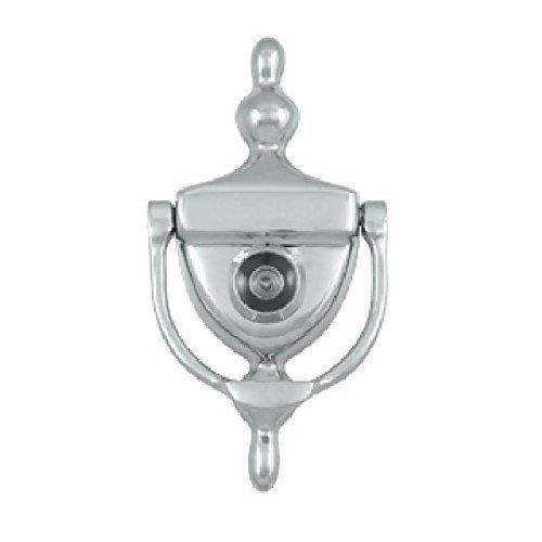 (Deltana DKV630U26 Door Knocker with Viewer 1-3/4-Inch Max Door Thickness by Top Notch Distributors, Inc. (Home Improvement))