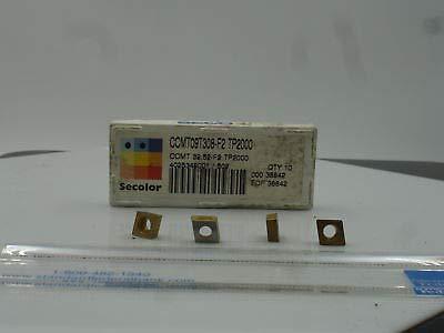 (CCMT-32.52 F2 TP200 SECO (10) New Inserts (1427))