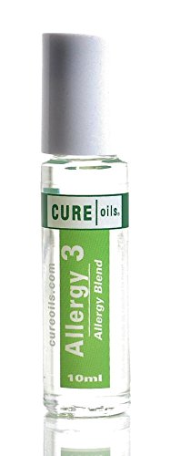 Allergy Relief Essential Oil Roll On for Sinus Infection & Allergies Supports Breathing, Sinusitis, Congestion, Respiratory System - 100% Pure Organic Natural Therapeutic Grade - 10ml by CUREoils