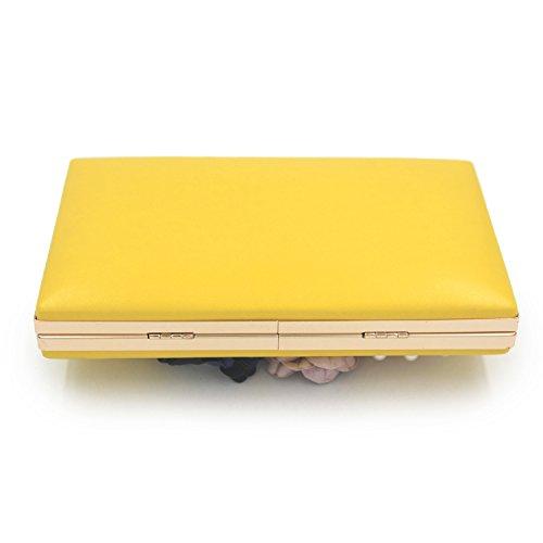 Flada , Damen Clutch Gelb gelb M