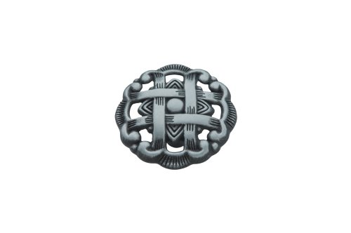 Hickory Hardware P126-AP 1-1/2-Inch Cavalier Cabinet Knob, Antique Pewter