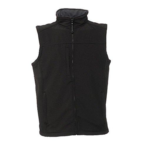 Regatta Flux Softshell Weste Bodywarmer, 1 Stück, L, schwarz, LSH0002963G0032F2627