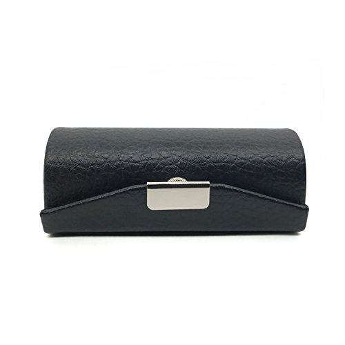 (HUNGER Leather Lipstick Case Holder With Mirror (Q55905) )