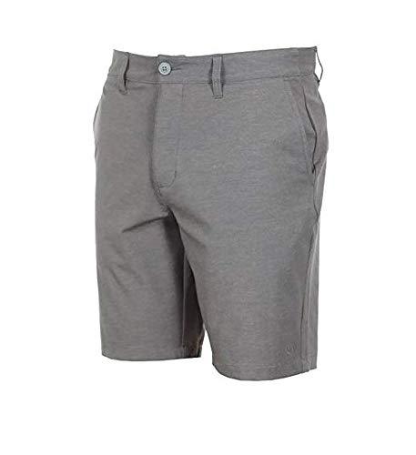 (RVCA.. Back in Hybrid Shorts Grey Heather Boardshorts/Walkshorts Trunks (33))