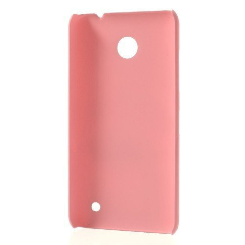 La cubierta dura para Nokia Lumia 630/635 - bolsillo para el teléfono S-LINE Teléfono Cool Skin caso de la cubierta protectora de la caja de cáscara de color rosa