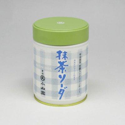 丸久小山園 炭酸入りグリーンティー 抹茶ソーダ270g缶入