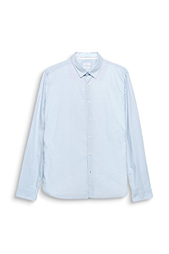 light 440 Camicia Esprit Uomo Blue Blu Y41Snq