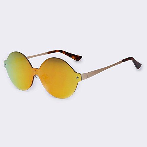 TIANLIANG04 Vintage de atrás espejo gafas sol de revestimiento C04Red redondo UV400 Gafas sol metálico forma C04rojo de bastidor de qt8rwt