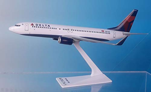 (Flight Miniatures Delta Airlines Boeing 737-800 1:200 Scale REG#N3773D Display Model)