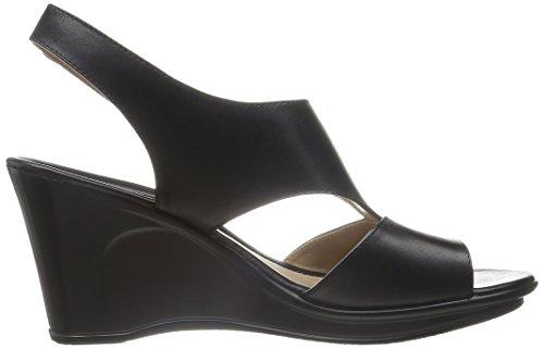 Naturalizer mujer sandalias de cuña de Orrin Black
