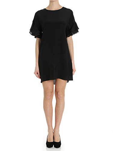 Robe set Viscose Noir Femme Twin Ts827d00006 nXdHqU11