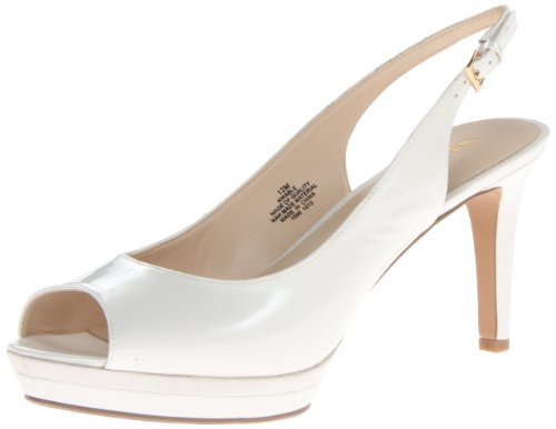 Image of Nine West Women's Able Synthetic Platform Pump