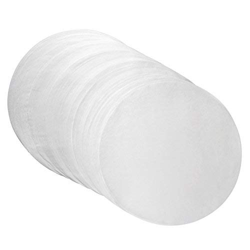 KANA Parchment Paper Baking Circles - 100 Pre-cut Round Parchment Sheets for Baking Cakes, Cooking, Cookies, Cookies, Pastries, Dutch Oven, Air Fryer, Cheesecakes, Tortilla Press (9 inch)