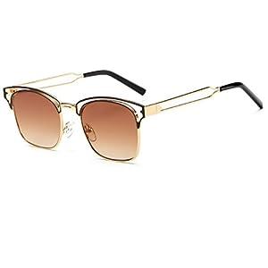 Sinkfish SG80033 Gift Sunglasses for Women,Anti-UV & Fashion - UV400 (Goldenrod)