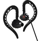 Yurbuds Ironman Focus Behind the Ear Performance Earloop Fit Sport Earphones, Black-10200 (Certified Refurbished)