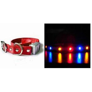 U0026quot;Red Blue Orangeu0026quot; LED Flashing Blinky Lights (Light Up