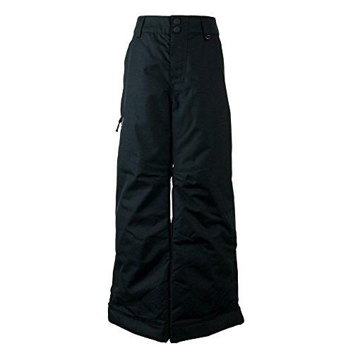 Obermeyer Kids  Boy's Brisk Pants (Little Kids/Big Kids) Black Small by Obermeyer Kids (Image #1)