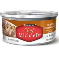 Purina Chef Michael's Canine Creations Rotisserie Chicken in Sauce Canned Dog Food, My Pet Supplies