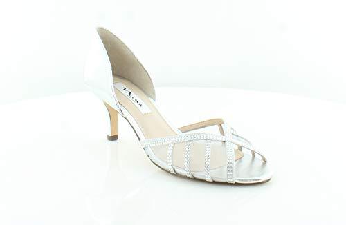 NINA Women's Corita Silver/True Silver Sandal