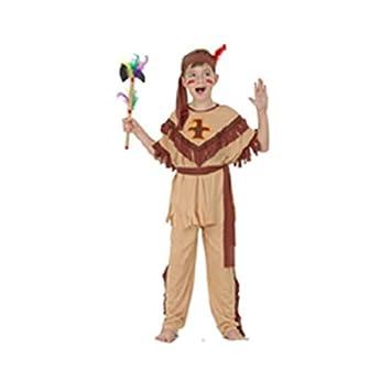 LUCIDA Disfraz Indio Traje Marron: Amazon.es: Juguetes y juegos