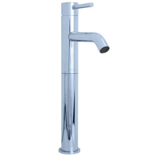 Cifial 225.101.625 Techno 25 Single Handle High Profile Lavatory faucet, Polished Chrome