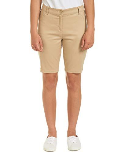 - Nautica Junior's Uniform Stretch Bermuda Short, Khaki, 1