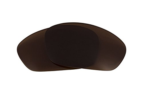 Replacement Lenses Compatible with OAKLEY Straight Jacket Polarized Bronze Brown