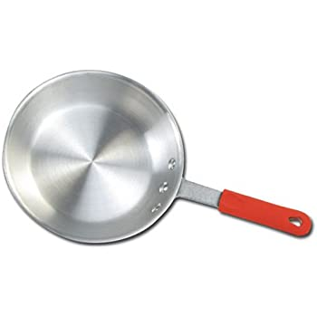 Winware 12 Inch Aluminum Fry Pan with Silicone Sleeve