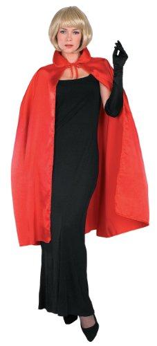 Rubie's Costume Satin Cape with Collar 3/4 Length Costume