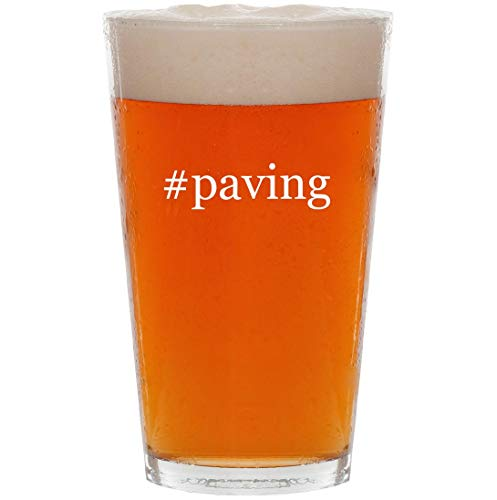 #paving - 16oz Hashtag All Purpose Pint Beer Glass