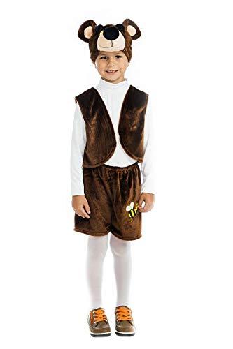 Amazon.com: 5 OReet - Disfraz de oso de peluche para niños ...