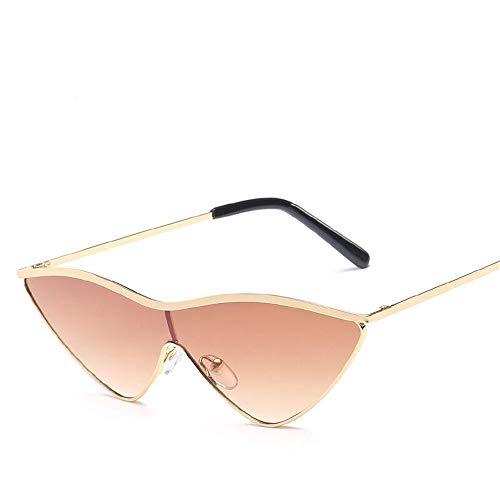 Vintage de de Fliegend Unisex Gafas Sol Espejo Súper Gafas Sol Ligero Eye Marrón Retro UV400 Gafas Cat Hombre para Lente Polarizadas Mujer PPCqnZ5