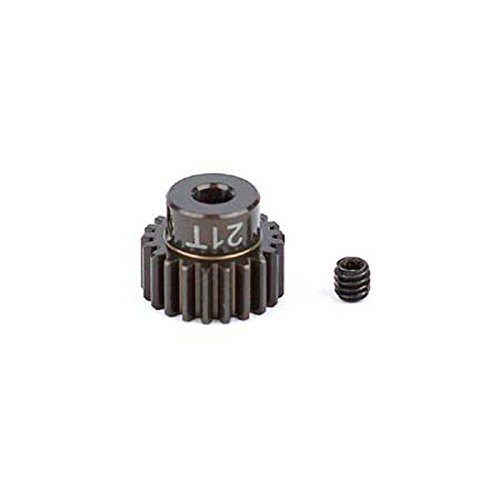 Team Associated 1339 Factory Aluminum 21T 48P 1/8 Shaft Pinion Gear