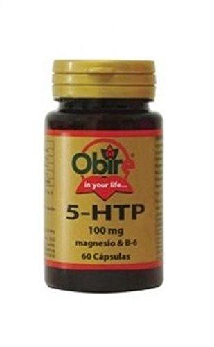 Triptófano (5-Htp 100 Mg) + Magnesio + B6 60 cápsulas de Obire