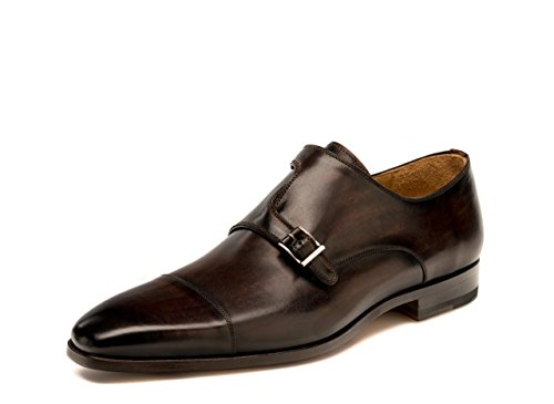Magnanni Jaime Brown Men's Monk Strap Shoes Brown cheap visit clearance low shipping fee pictures cheap price xgaxcF