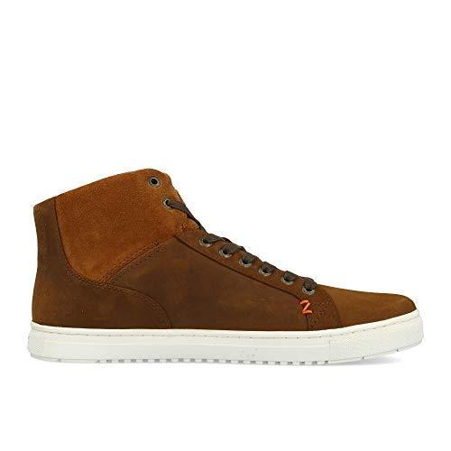 HUB L47 White Leather Shetland Murrayfield Brown rRqrw4a5