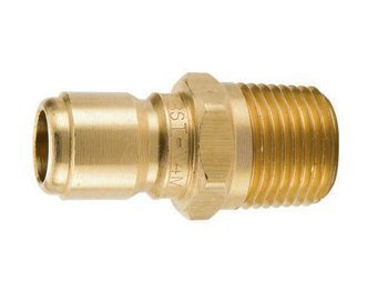 Parker BST-N1M High Flow Hydraulic Quick Coupler 1//8 NPT Male Brass