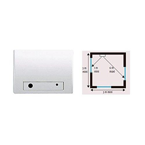 SOMFY-Detector de rotura de cristales audiosonique SOMFY 2400437 alarma: Amazon.es: Bricolaje y herramientas