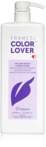 Framesi Color Lover Volume Boost Conditioner - 33.8 Ounce, Volumizing Conditioner, Weightless Conditioner, Adds Volume and Is Color Safe, Vegan, Gluten Free, Cruelty Free ()